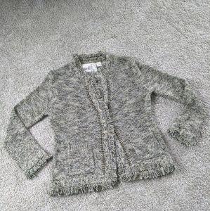 Anthropologie Angel of the North Tweed Jacket